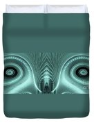 Electric Sheep Duvet Cover by John Edwards