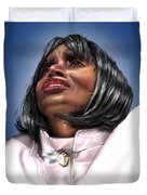 Elevated In His Glory Duvet Cover by Reggie Duffie