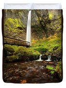 Elowah Perspective Duvet Cover by Mike  Dawson