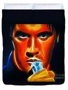 Elvis Presley Duvet Cover by Pamela Johnson