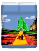 Emerald City Duvet Cover by Tom Zukauskas