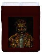 Emiliano Zapata Duvet Cover by Americo Salazar