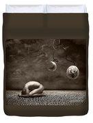 Emptiness Duvet Cover by Jacky Gerritsen