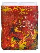 Energy Of Creation Duvet Cover by Georgeta  Blanaru