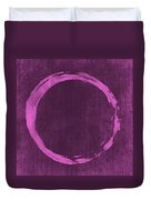 Enso 4 Duvet Cover by Julie Niemela