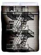 Escape Duvet Cover by Dave Bowman