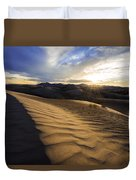 Evening Ripples Duvet Cover by Chad Dutson