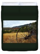 Ewing-snell Ranch 3 Duvet Cover by Larry Ricker