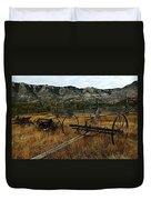 Ewing-snell Ranch 4 Duvet Cover by Larry Ricker