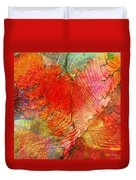 Exhilaration Duvet Cover by Barbara Berney