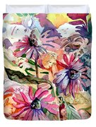 Fairy Land Duvet Cover by Mindy Newman