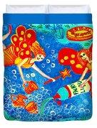 Fairy Liquid Duvet Cover by Sushila Burgess