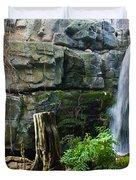 Fairy Waterfall Duvet Cover by Douglas Barnett