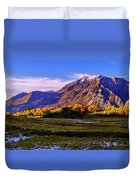 Fall Meadow Duvet Cover by Chad Dutson