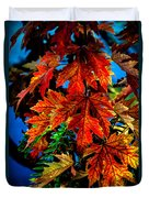 Fall Reds Duvet Cover by Robert Bales