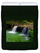 Falling Water Falls Duvet Cover by Marty Koch