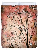Far Far Away By Madart Duvet Cover by Megan Duncanson
