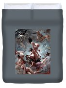 Faust's Vision Duvet Cover by Luis Riccardo Falero