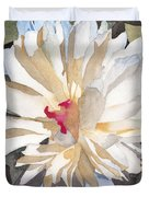 Feathery Flower Duvet Cover by Ken Powers