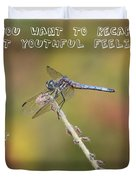 Feel Young Again Duvet Cover by Carol Groenen