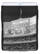 Fenway Park Duvet Cover by Lauri Novak