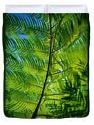 Fern Detail Duvet Cover by Himani - Printscapes
