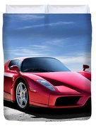 Ferrari Enzo Duvet Cover by Douglas Pittman