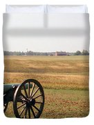 Fields Of Death Duvet Cover by Richard Rizzo