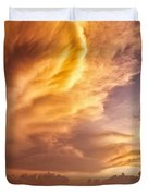 Fire in the Sky Duvet Cover by Dave Bowman