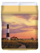 Fire Island Lighthouse Duvet Cover by Diane Romanello
