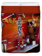 Fireman - Engine No 2  Duvet Cover by Mike Savad
