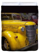 Fireman - Mattydale  Duvet Cover by Mike Savad