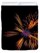 Firework Fun Duvet Cover by Dawn OConnor