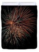 Fireworks Duvet Cover by Christopher Holmes