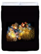 Fireworks Exploding  Duvet Cover by Garry Gay