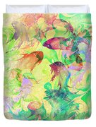 Fish Dreams Duvet Cover by Rachel Christine Nowicki