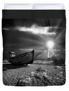 Fishing Boat Graveyard 7 Duvet Cover by Meirion Matthias
