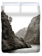 Fjord Beauty Duvet Cover by Dave Bowman