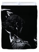 Flamenco Recital Duvet Cover by Richard Young