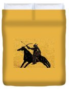 Flaming Arrow Duvet Cover by David Lee Thompson