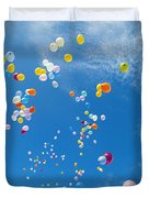 Float Away Duvet Cover by Bob Abraham - Printscapes
