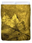 Floating Foliage Duvet Cover by Ed Smith