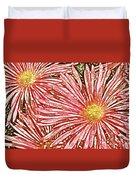 Floral Design No 1 Duvet Cover by Ben and Raisa Gertsberg