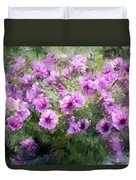 Floral Study 053010 Duvet Cover by David Lane