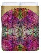 Flower Of Life Duvet Cover by Filippo B