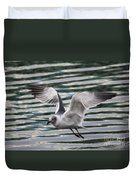 Flying Seagull Duvet Cover by Carol Groenen