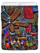 Foley's Pub in Manhattan Duvet Cover by Randy Aveille