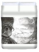 Fomorii Swamp Duvet Cover by Otto Rapp