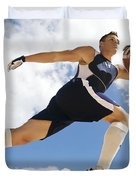 Football Athlete II Duvet Cover by Kicka Witte - Printscapes