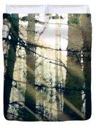 Forest Sunrise Duvet Cover by Paul Sachtleben